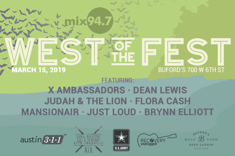 West of the Fest 2019 Mix 94.7