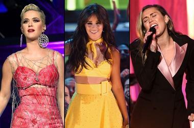 Katy Perry x Camila Cabello x Miley Cyrus