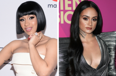 Recording artist Cardi B attends the Clive Davis and Recording Academy Pre-GRAMMY Gala and GRAMMY Salute to Industry Icons Honoring Jay-Z on January 27, 2018. /  Kehlani at Billboard Women in Music 2017 at the Ray Dolby Ballroom on November 30, 2017 in Ho