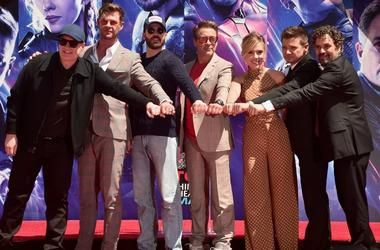 Avengers: Endgame cast at the TCL Chinese Theatre