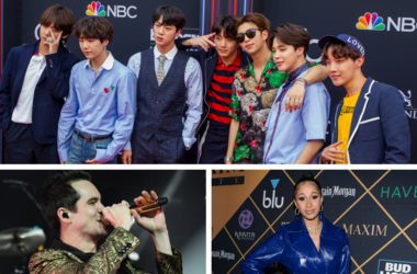 BTS, Panic! At The Disco and Cardi B