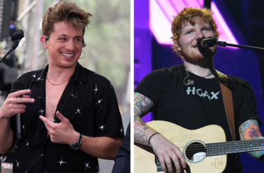 "Singer Charlie Puth Live Performance on NBC's ""Today Show"" at Rockefeller Plaza in New York, USA. / Ed Sheeran performs at the American Airlines Arena."