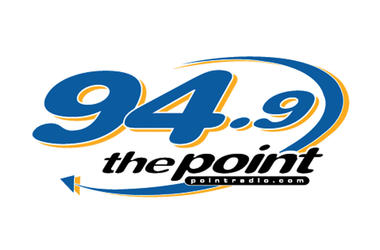 94.9 The Point logo