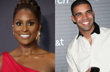 Actress Issa Rae and rapper Drake