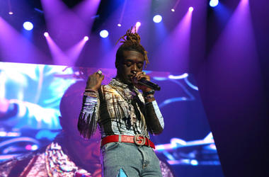 Rapper Lil Uzi Vert performs at Power 105.1's Powerhouse 2018 at Prudential Center on October 28, 2018 in Newark, New Jersey