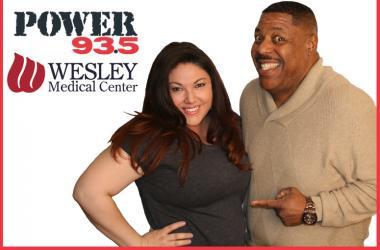 Miranda's having a baby at Wesley Medical Center