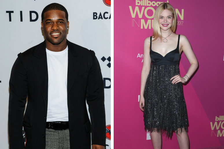 A$AP Ferg. TIDAL X: Brooklyn at Barclays Center / Elle Fanning at Billboard Women in Music 2017 at the Ray Dolby Ballroom on November 30, 2017 in Hollywood, California.