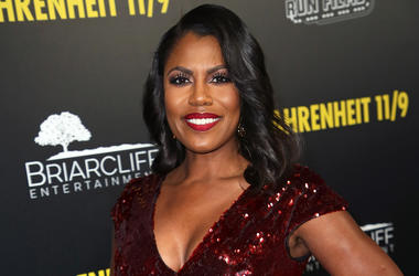 """BEVERLY HILLS, CA - SEPTEMBER 19: Omarosa Manigault Newman attends the premiere of Briarcliff Entertainment's """"Fahrenheit 11/9"""" at Samuel Goldwyn Theater on September 19, 2018 in Beverly Hills, California. (Photo by David Livingston/Getty Images)"""