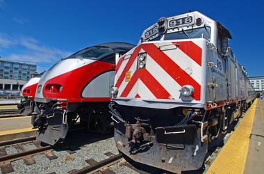 Caltrain (Photo credit: Elf0724/Dreamstime)