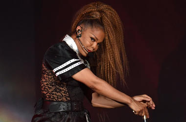 Aug 5, 2018; Miami, FL, USA; Janet Jackson performs at American Airlines Arena. Mandatory Credit: Ron Elkman/USA TODAY NETWORK