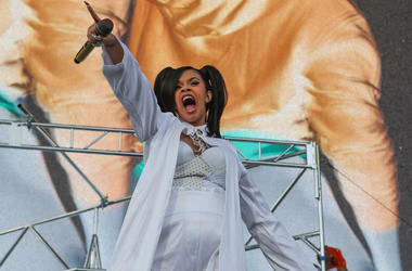 Cardi B performs at the Coachella Valley Music and Arts Festival at Empire Polo Club, Apr 15, 2018; Indio, California. Entertainment Coachella Valley Music And Arts Festival