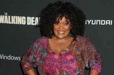 "03 October 2013 - Universal City, California - Yvette Nicole Brown. ""The Walking Dead"" 4th Season Premiere held at the AMC Universal Citywalk Stadium 19 Theatre."