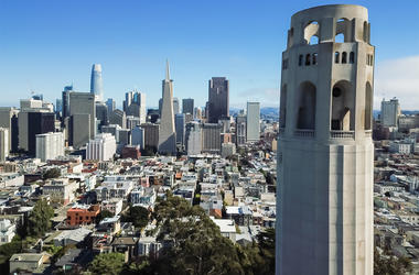 San Francisco's iconic Coit Tower