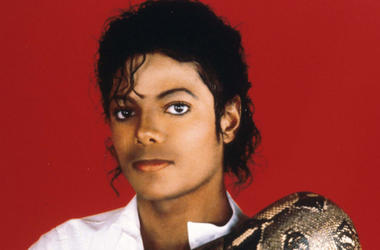 Entertainer Michael Jackson poses with his pet boa constrictor September 15, 1987 in the USA. Jackson, who was the lead singer for the Jackson Five by age eight, reached the peak of his solo career with 1982''s 'Thriller,' the best-selling album of all ti
