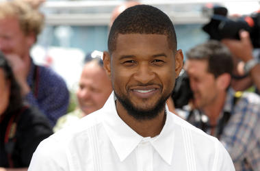 5/16/2016 - Usher Raymond IV attending the Hands of Stone photocall, held at the Palais De Festival. Part of the 69th Cannes Film Festival in France. (Photo by PA Images/Sipa USA)