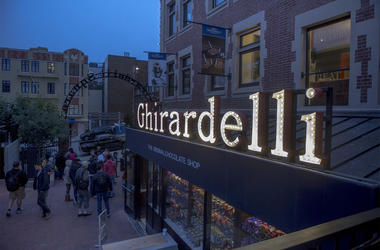 One of three Ghirardelli Chocolate locations at Ghirardelli Square located in the historic Fisherman's Wharf area of San Francisco, Calif., on Thursday, July 28, 2016. (Photo by Manny Crisostomo/The Sacramento Bee/TNS)