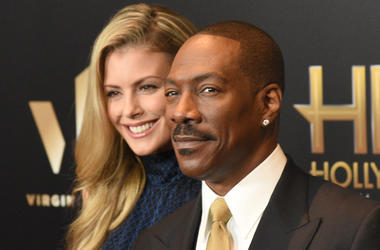 HOLLYWOOD, CA - NOVEMBER 06: Paige Butcher (L) and Eddie Murphy attend the 2016 Hollywood Film Awards at The Beverly Hilton Hotel on November 6, 2016 in Hollywood, California. (Photo by ISA/imageSPACE)