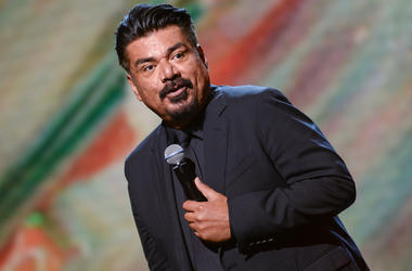 "George Lopez appears onstage at ""Showtime at the Apollo"" at the Apollo Theater on November 30, 2016 in New York City. The two hour special, hosted by Steve Harvey airs on Fox on December 5."