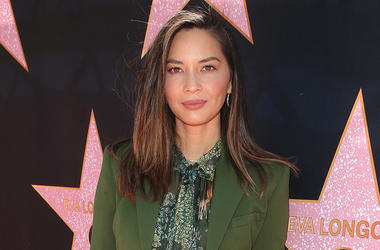 16 April 2018 - Beverly Hills, California - Olivia Munn. Eva Longoria's Star On The Hollywood Walk of Fame Ceremony Post Luncheon. Photo Credit: F. Sadou/AdMedia