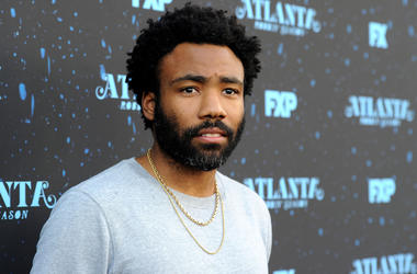 NORTH HOLLYWOOD, CA - JUNE 8: Executive Producer Donald Glover attends the FYC Red Carpet event for FX's 'Atlanta Robbin' Season' at Saban Media Center at the Television Academy Wolf Theater on June 8, 2018 in North Hollywood, California.(Photo by Frank M