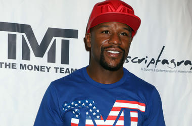 9/8/2018 - Boxer Floyd Mayweather Jr attends an Exclusive Autograph Signing Event held at Inscriptagraphs, Caesars Palace Hotel & Casino Las Vegas. (Photo by PA Images/Sipa USA)