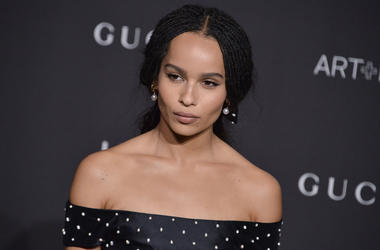 Zoe Kravitz arrives at the 2018 LACMA Art + Film Gala held at LACMA in Los Angeles, CA on Saturday, ​November 3, 2018. (Photo By Sthanlee B. Mirador/Sipa USA)