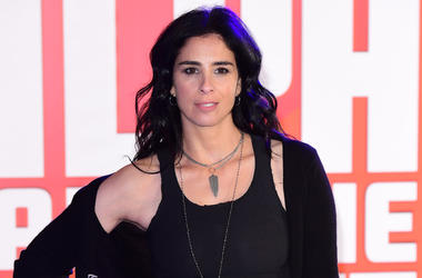 11/25/2018 - Sarah Silverman attending the Ralph Breaks the Internet european premiere held at Curzon Mayfair, London. (Photo by PA Images/Sipa USA) *** US Rights Only ***