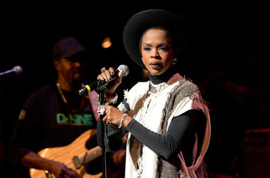 Singer Lauryn Hill performs during The Wailers 30th Anniversary Performance at The Apollo Theater on November 29, 2014 in New York City. (Photo by Noam Galai/Getty Images)