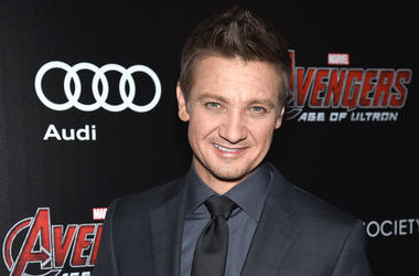 NEW YORK, NY - APRIL 28: Actor Jeremy Renner attends The Cinema Society & Audi screening of Marvel's 'Avengers: Age of Ultron' on April 28, 2015 in New York City. (Photo by Dimitrios Kambouris/Getty Images)