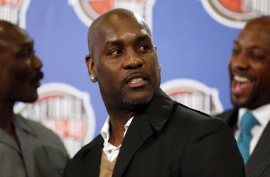 Feb 14, 2014; New Orleans, LA, USA; NBA former player Gary Payton during the NBA Hall of Fame Annoucement at New Orleans Hyatt. Mandatory Credit: Derick E. Hingle-USA TODAY Sports
