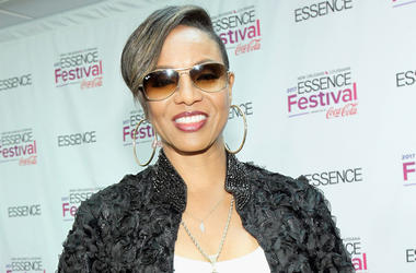 NEW ORLEANS, LA - JUNE 30: Rapper MC Lyte poses in the press room at the 2017 ESSENCE Festival Presented By Coca Cola at the Mercedes-  Benz Superdome on June 30, 2017 in New Orleans, Louisiana. (Photo by Bennett Raglin/Getty Images for 2017 ESSENCE Festi