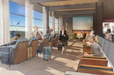 Alaska Airlines Guest Lounge (Photo credit: Alaska Airlines)
