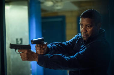 "Denzel Washington in a scene from ""Equalizer 2."""