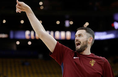 Cleveland Cavaliers forward Kevin Love