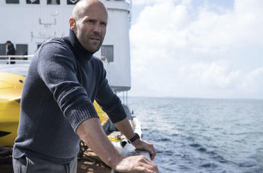 """Jason Statham in a scene from the film, """"The Meg."""""""
