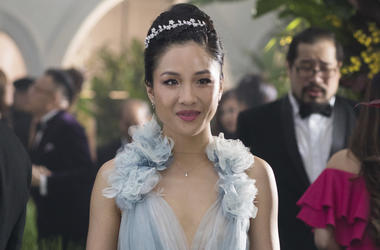 """This image released by Warner Bros. Entertainment shows Constance Wu in a scene from the film """"Crazy Rich Asians."""" (Sanja Bucko/Warner Bros. Entertainment)"""