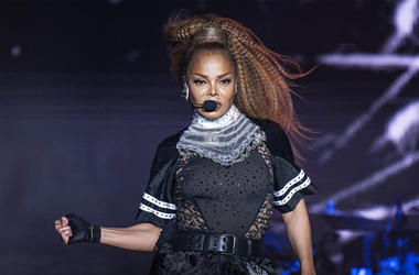In this July 8, 2018 file photo, Janet Jackson performs at the 2018 Essence Festival in New Orleans. Jackson will join Def Leppard, Stevie Nicks, Radiohead, the Cure, Roxy Music and the Zombies as new members of the Rock and Roll Hall of Fame. The 34th in