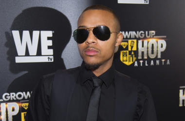 """In this May 16, 2017 file photo, Rapper Shad Moss, aka Bow Wow, attends WE TV's """"Growing Up Hip Hop Atlanta"""" premiere screening at iPic Theaters in New York. Atlanta police say that the rapper was arrested early Saturday, Feb. 2, 2019, following a fight w"""