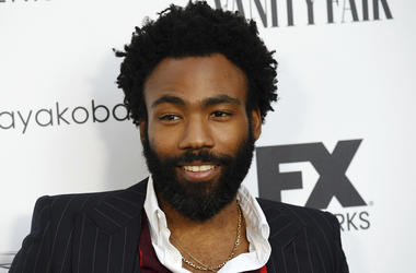 "In this Sept. 16, 2018 file photo, Donald Glover, creator and star of the FX series ""Atlanta,"" and a musician who performs under the name Childish Gambino, poses at a private cocktail party to celebrate the FX network's Emmy nominations in Los Angeles. Gl"