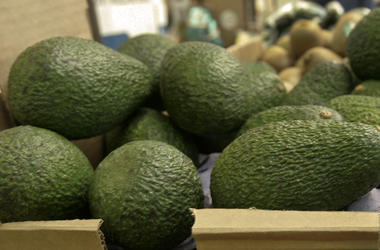 In this Jan. 17, 2007 file photo, California-grown avocados are for sale at a market in Mountain View. (AP Photo/Paul Sakuma, File)