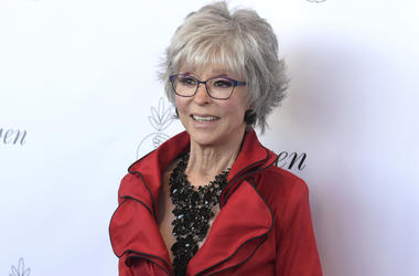 In this Aug. 25, 2018, file photo, Rita Moreno arrives at the 33rd annual Imagen Awards in Los Angeles. (Photo by Richard Shotwell/Invision/AP, File)