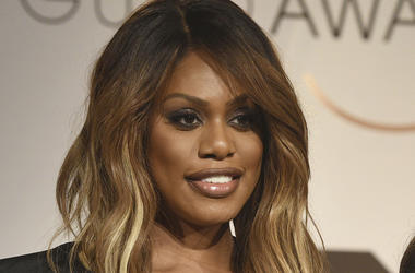 In this Dec. 12, 2018 file photo, Laverne Cox poses at the nominations announcement for the 25th annual Screen Actors Guild Awards in West Hollywood, Calif. (Photo by Chris Pizzello/Invision/AP, File)