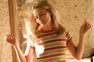 "This image released by Sony Pictures shows Margot Robbie in Quentin Tarantino's ""Once Upon a Time in Hollywood."" (Andrew Cooper/Sony-Columbia Pictures via AP)"