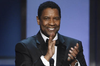 Actor Denzel Washington accepts the 47th AFI Life Achievement Award during a ceremony at the Dolby Theatre, Thursday, June 6, 2019, in Los Angeles. (Photo by Chris Pizzello/Invision/AP)