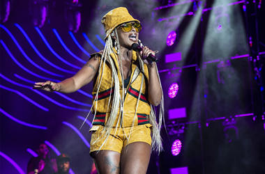 In this July 7, 2018 file photo, Mary J. Blige performs at the 2018 Essence Festival at the Mercedes-Benz Superdome in New Orleans. (Photo by Amy Harris/Invision/AP, File)