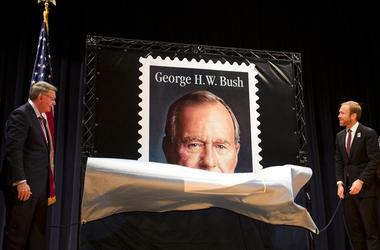 Forever Stamp honoring former President George H.W. Bush
