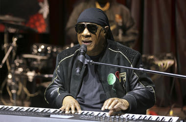 """In this Tuesday, Nov. 27, 2018 file photo, Stevie Wonder performs live at the """"House Full of Toys 22nd Annual Benefit Concert"""" press conference in Los Angeles. (Photo by Willy Sanjuan/Invision/AP, File)"""