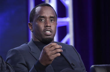 "This Jan. 4, 2018 file photo shows Sean Combs participating in ""The Four"" panel during the FOX Television Critics Association Winter Press Tour in Pasadena, California. (Photo by Richard Shotwell/Invision/AP, File)"