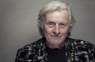 "This Jan. 19, 2013 file photo shows actor Rutger Hauer at the Sundance Film Festival in Park City, Utah. Hauer, who specialized in menacing roles, including a memorable turn as a murderous android in ""Blade Runner"" opposite Harrison Ford, has died July 19"