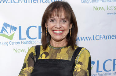 """In this Sunday, Sept. 29, 2013, file photo, Valerie Harper attends the """"Lung Cancer: Bring On The Change!"""" Event in Los Angeles. (Photo by Todd Williamson/Invision/AP, File)"""